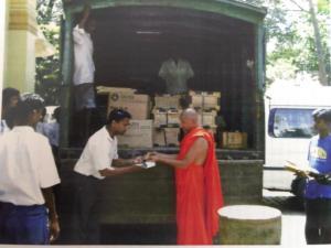 Lasantha Donation